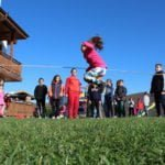 Скачане на въже - игра от нашите детски лагери