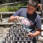 Пирамида - игра от програмата на www.DetskiLageri.com