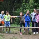 Фризби - игра от програмата на нашите детски лагери