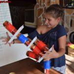Кула от кенчета - игра от анимацията на www.DetskiLageri.com