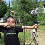 стрелба с лък игра на www.detskilageri.com