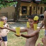 водна статуя игра на www.detskilageri.com